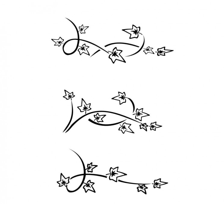 Ivy Vines Tattoo Samples
