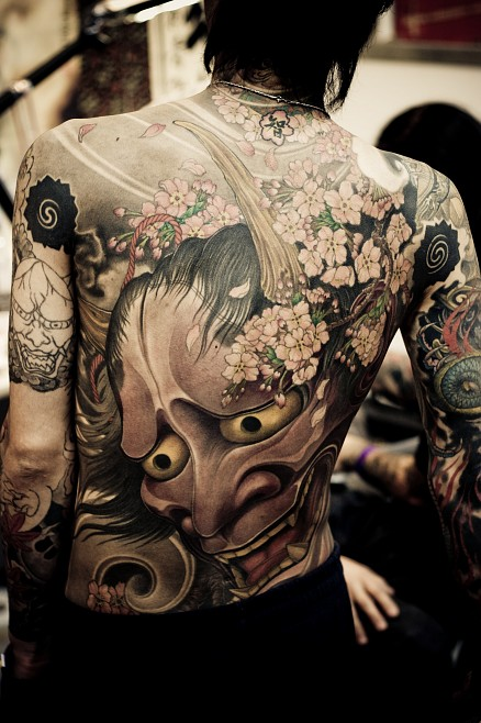 Japanese Tattoo Picture On Back