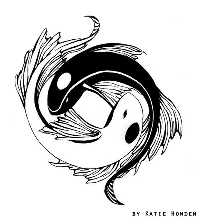 Japanese Yin Yang Tattoo Designs