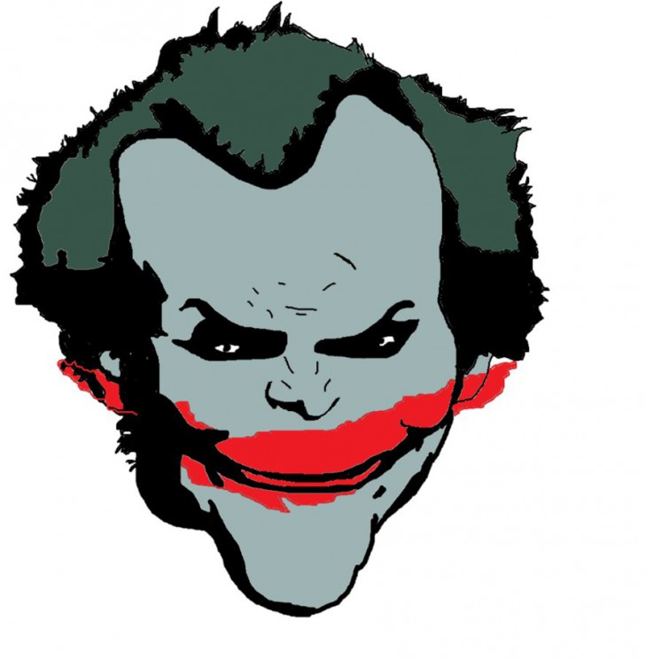 Joker Head Tattoo Photo