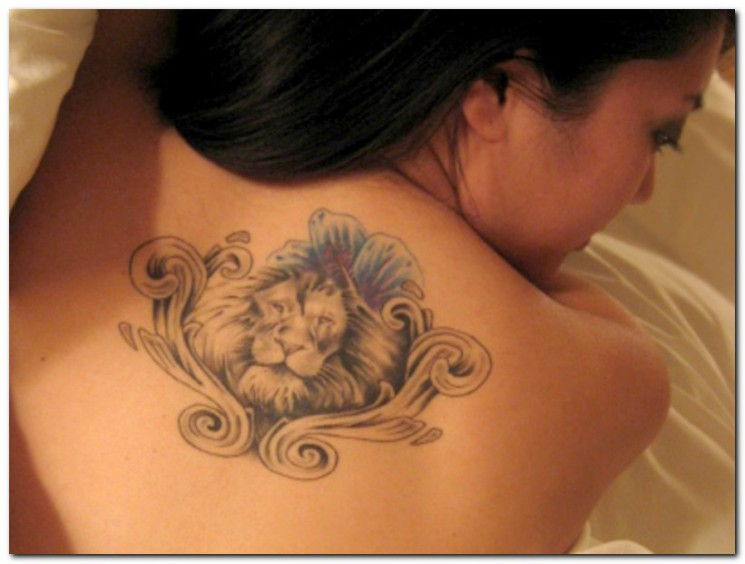 King Lion Tattoo On Upper Arm