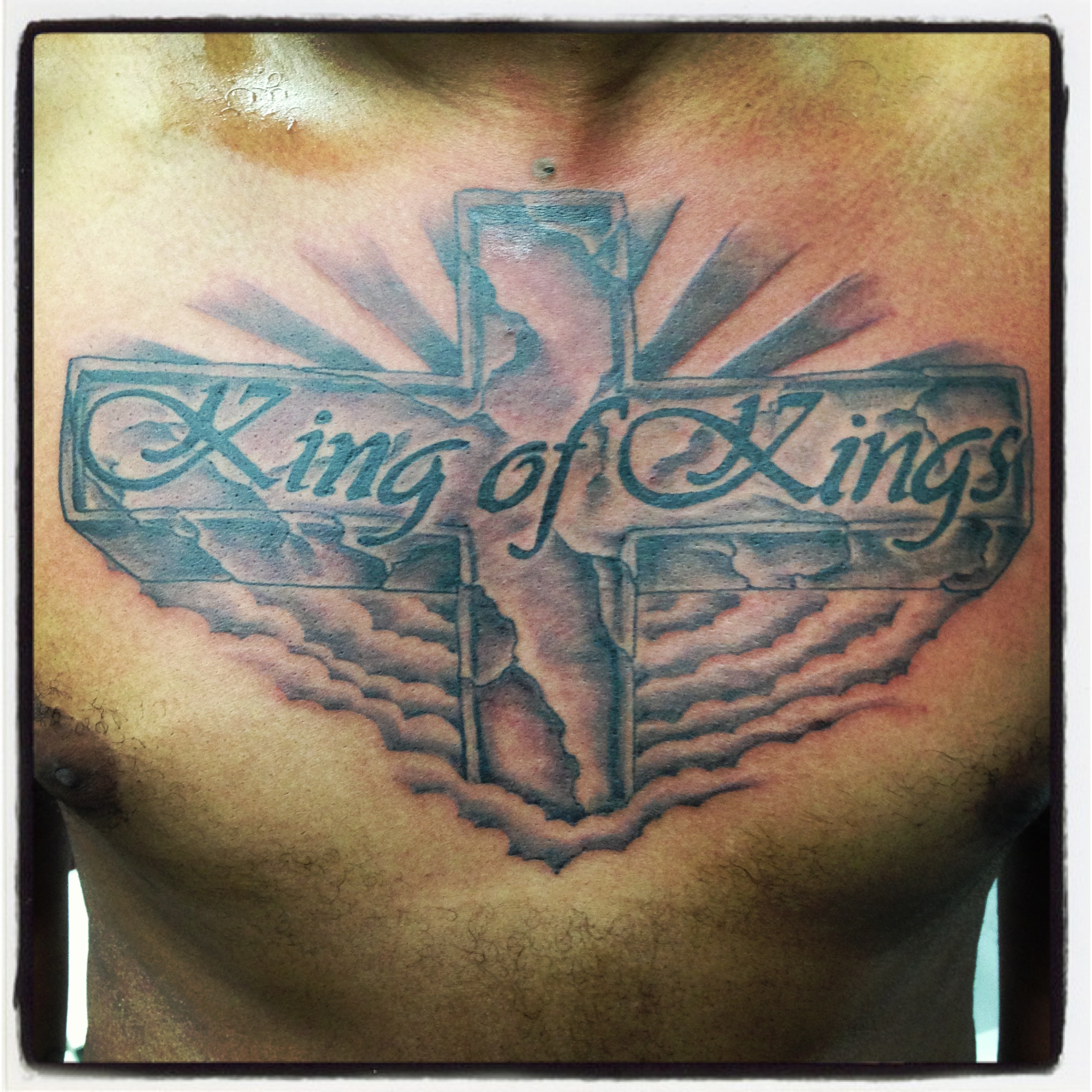 king of kings tattoo design in 2017 real photo pictures images and sketches tattoo collections. Black Bedroom Furniture Sets. Home Design Ideas