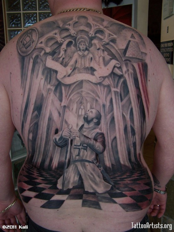 Knights Templar Tattoo