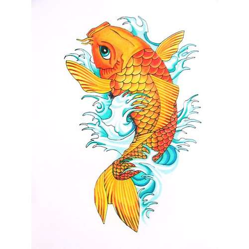Koi Fish Tattoo For Men On Arm