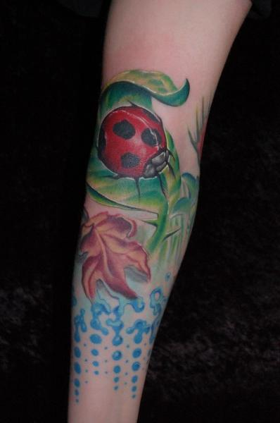 Lady Bug Tattoo For Your Arm