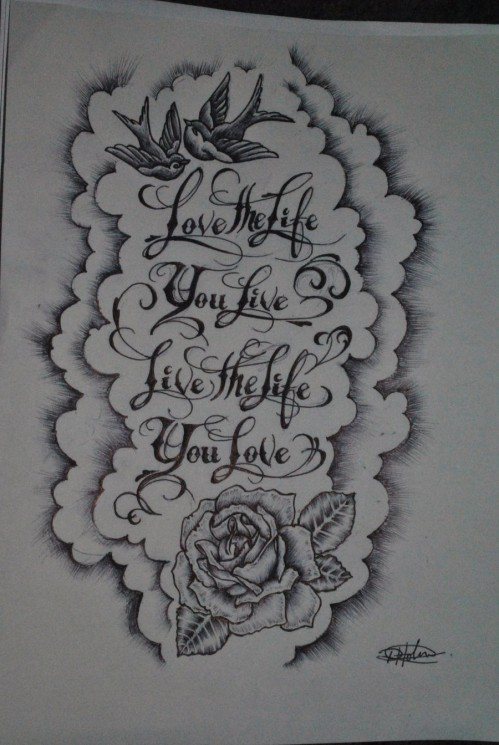 Latest Orchid Tattoo Design For All