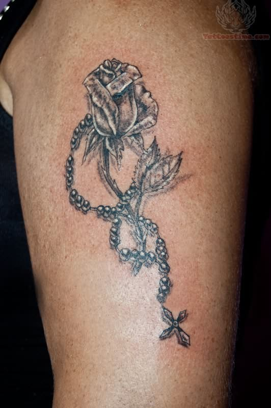 Lettering tattoos tattoo collections for Necklace tattoo designs