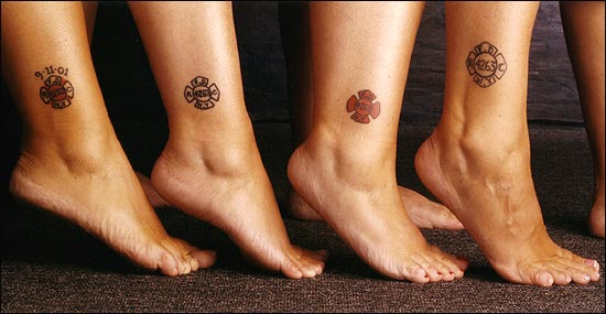 Little Brothers And Sister Symbol Tattoos