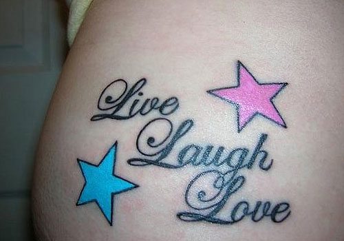 live laugh love tattoos for wrist photo 2 2017 real photo pictures images and sketches. Black Bedroom Furniture Sets. Home Design Ideas