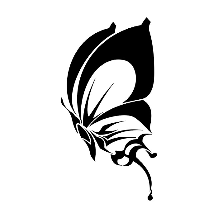 Lots Of Black Butterfly Tattoo Designs In 2017 Real Photo