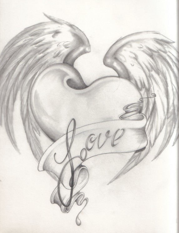 Love Tattoo Drawing