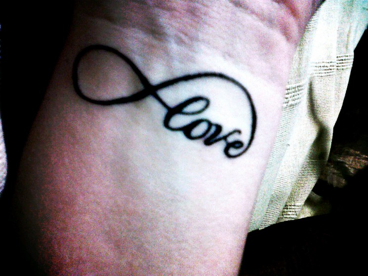Love Tattoo For Your Wrist