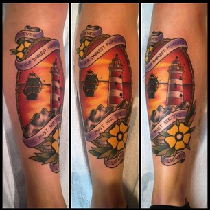 Dont Forget Roots – Lighthouse Tattoo