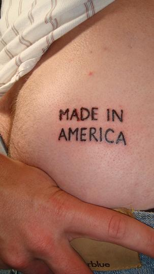Made In America Country Tattoo