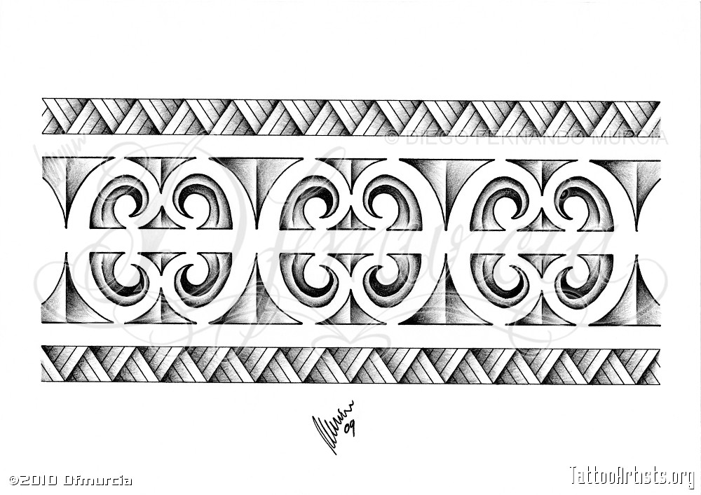 Maori armband tattoo in 2017 real photo pictures images for Polynesian tattoo armband designs