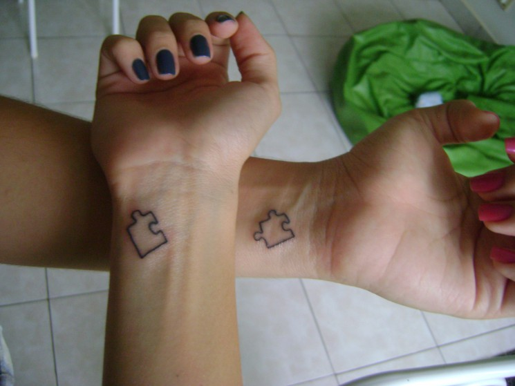 Matching Tattoo For Friendship