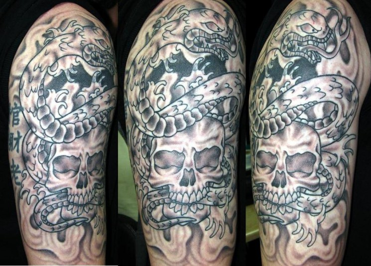 Mexican Sleeve Tattoo Design