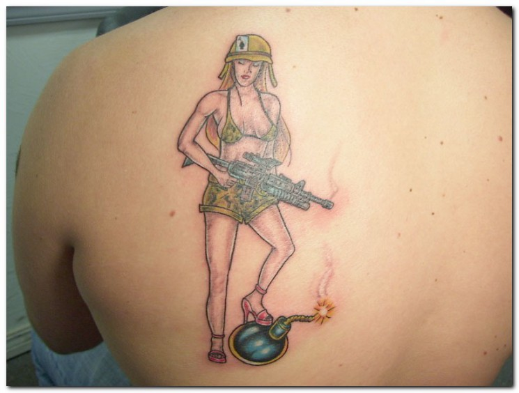 Military Tattoo For Women