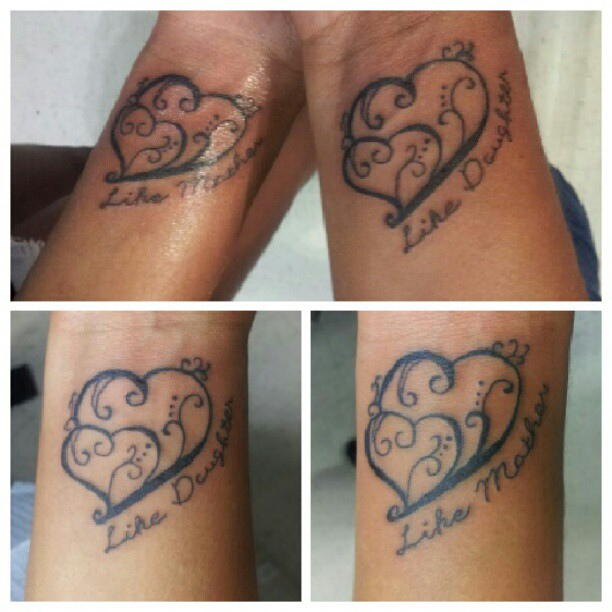 Mother Like Daughter Tattoos