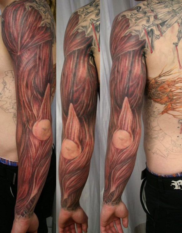 Muscles Tattoo Pictures