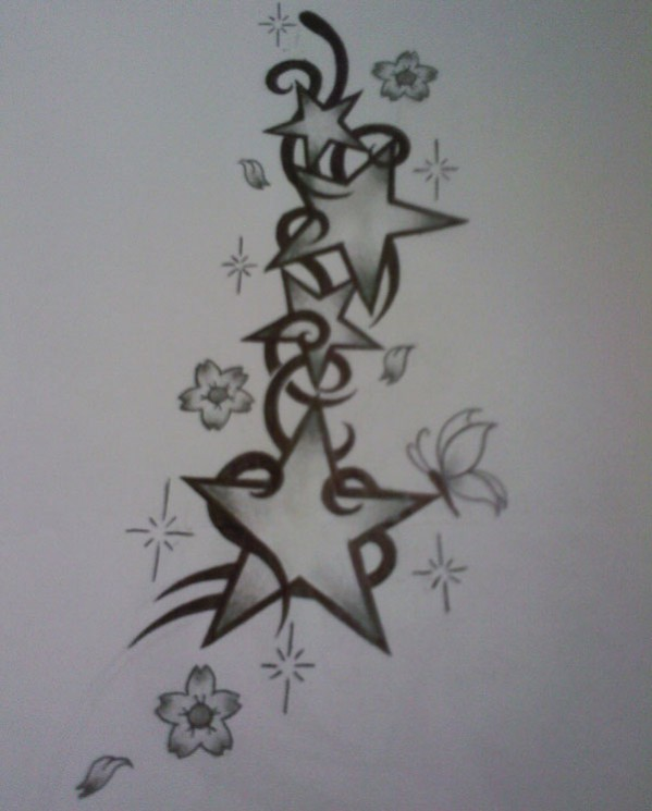 Love Aint No Game Heart n Rose Tattoo Sketch