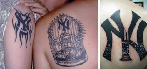 ny yankees tattoos pics photo 3 2017 real photo pictures images and sketches tattoo. Black Bedroom Furniture Sets. Home Design Ideas