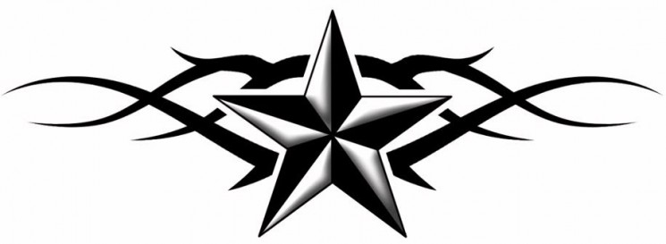 Nautical Star Tattoo Graphic
