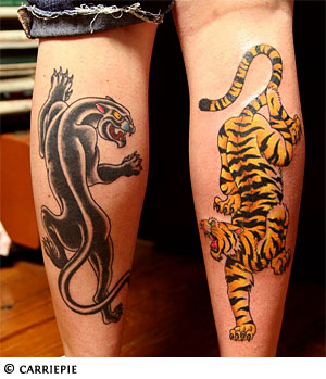 New Panther Tattoos For Men
