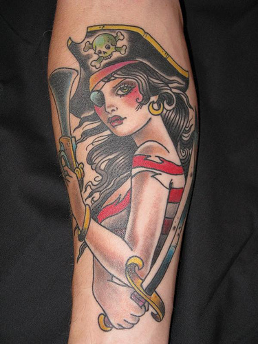 New Pirate Tattoos Gallery