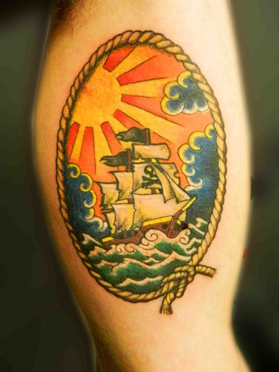New Ship Tattoo