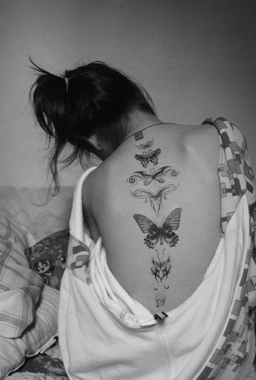 New Watercolor Butterfly Tattoo
