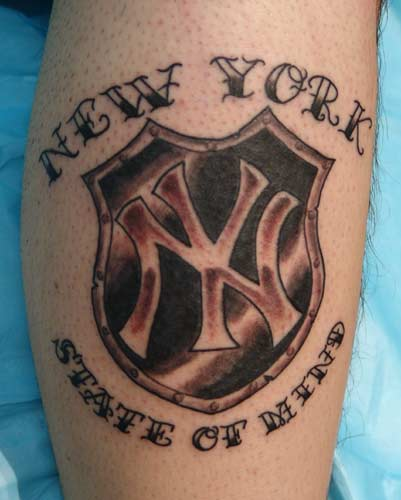 New York Sports Tattoo