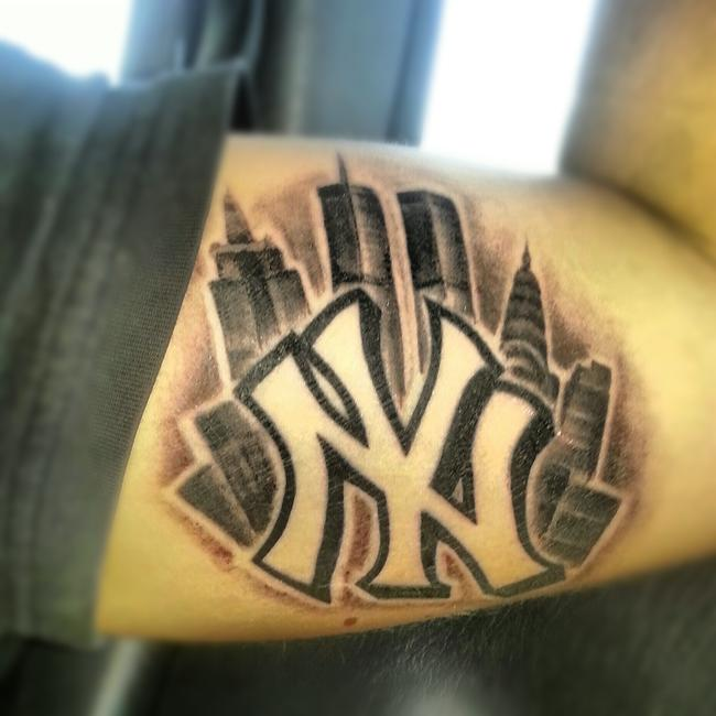 Connu Newyork Yankees Tattoo in 2017: Real Photo, Pictures, Images and  BH41