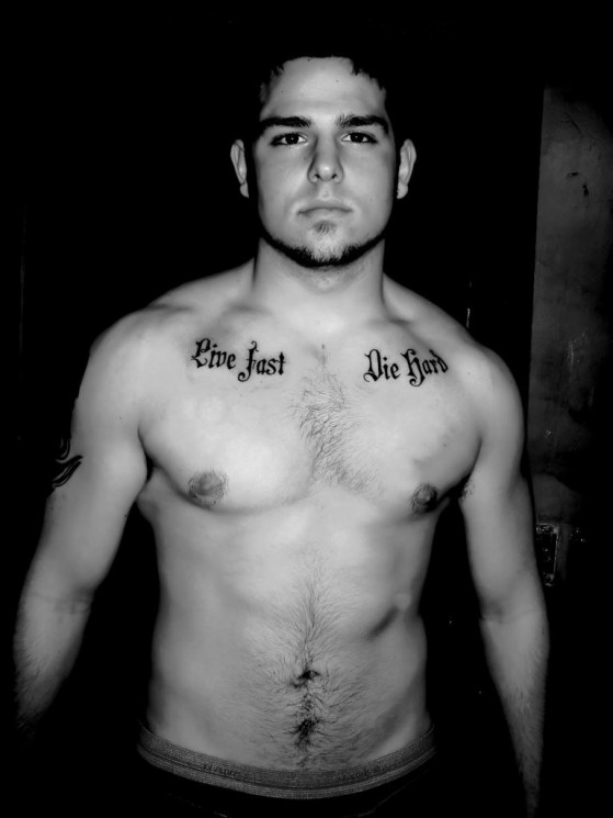 Nice Shark With Anchor Tattoos On Shoulder