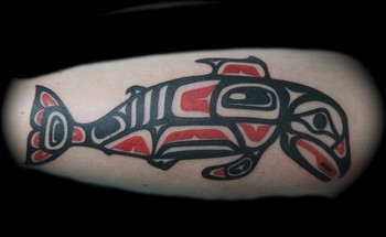 North Western Indian Fish Tattoo