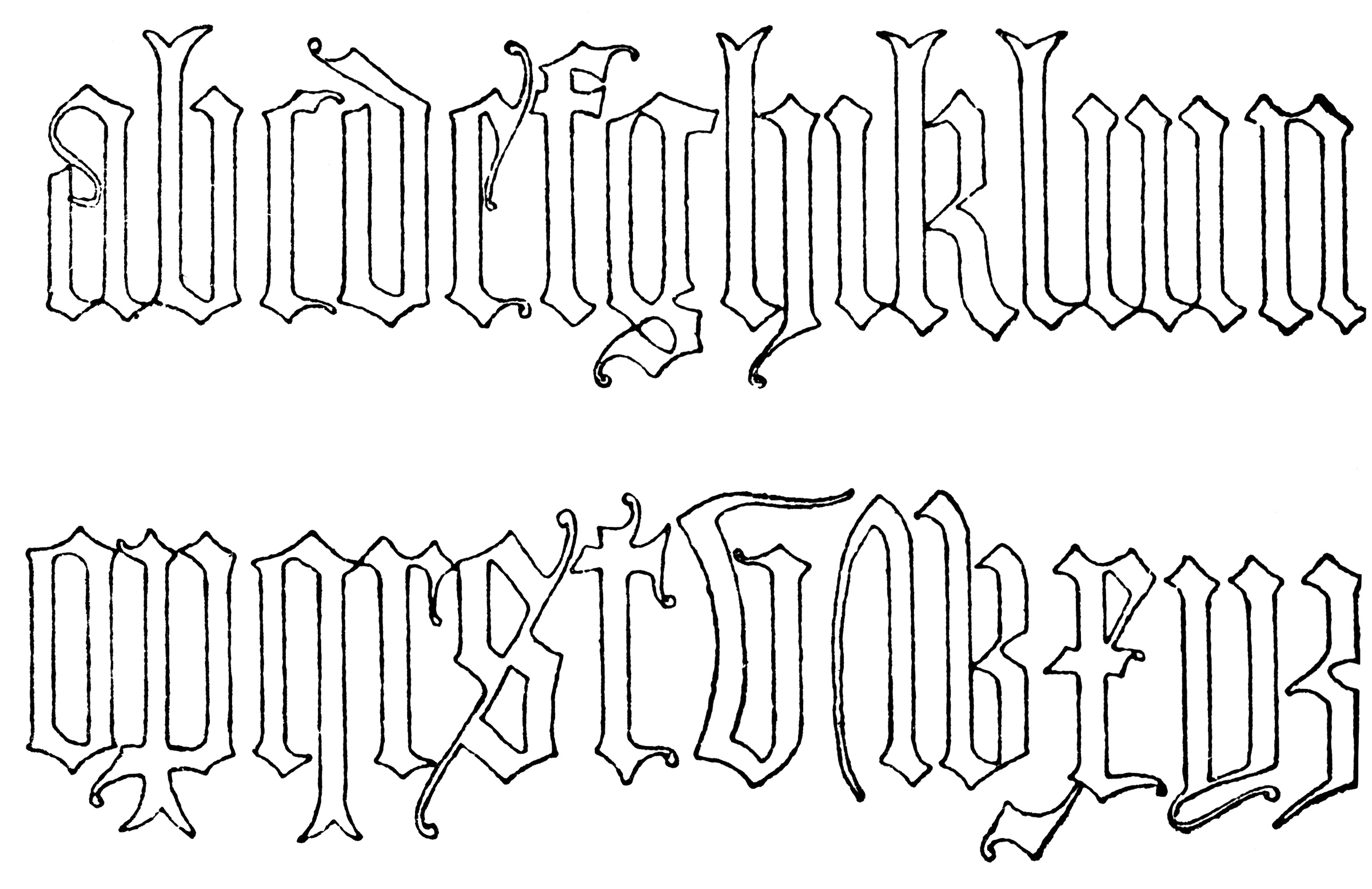 Tattoo Word Design Generator Inside Letters Old English Images