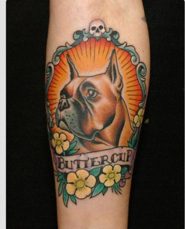 One Reason A Dog Can Be Tattoo Design