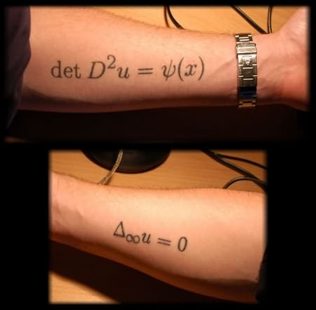Physics Couple Tattoo