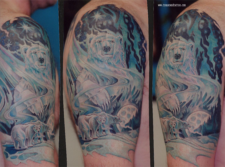 Polar Bear Tattoo Image