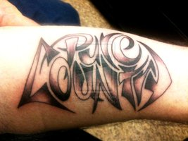 Pure Country Tattoo On Arm