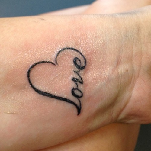 Puzzle Outline Friendship Tattoos On Wrists