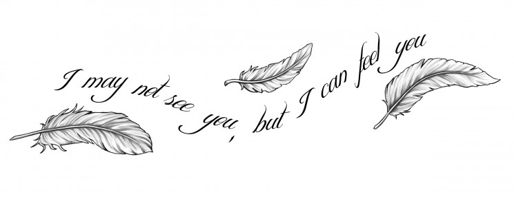 Quill Feather Tattoo On Back