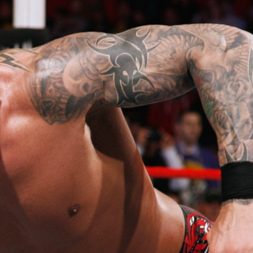 Randy Orton Sleeve Tattoos