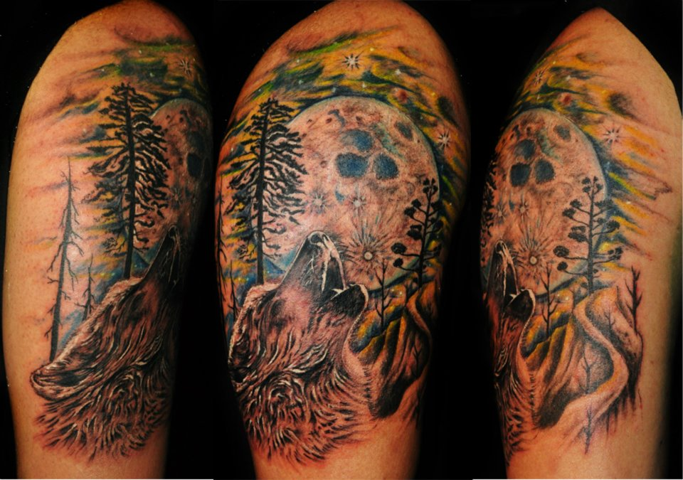 Realistic sun tattoo in 2017 real photo pictures images for Realistic sun tattoo