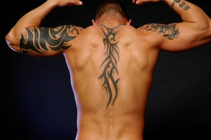 Religious Asian Tattoo For Your Back