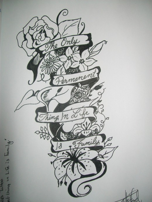 Family Tree Tattoo Designs