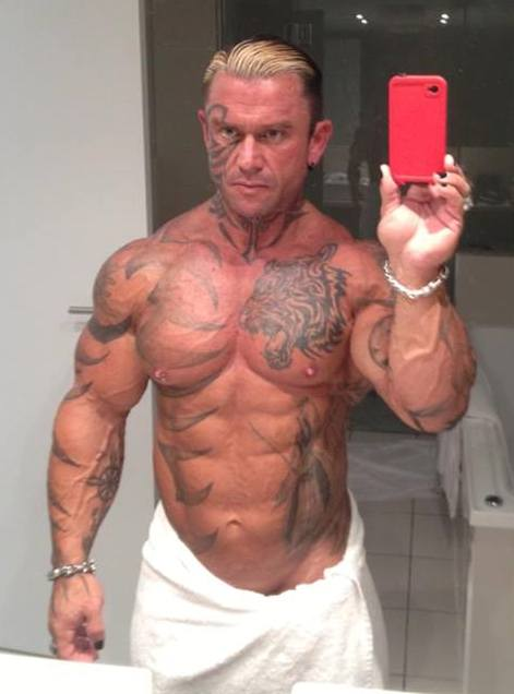Rich Pianas Muscles Tattoos