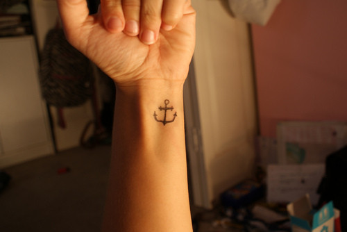 Right Arm Anchor Tattoo