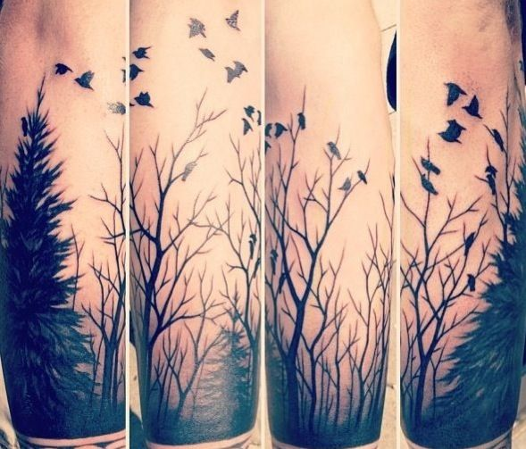 right half sleeve family tree tattoo in 2017 real photo pictures images and sketches tattoo. Black Bedroom Furniture Sets. Home Design Ideas