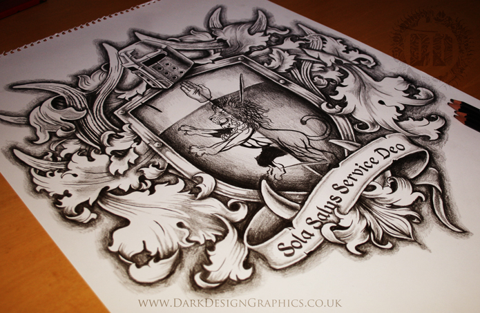 Russian Coat Of Arms Tattoo On Back